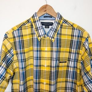 US Polo ASSN Men Size XL Shirt Slim Fit Plaid